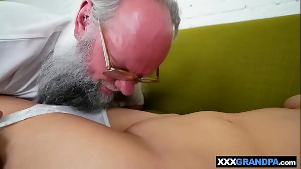 Old man, Pussy licking