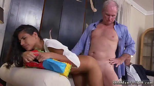 Old daddy, Ass lick