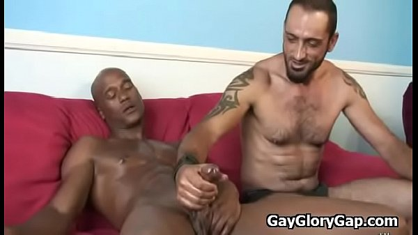 Gay, Interracial, Gloryhole