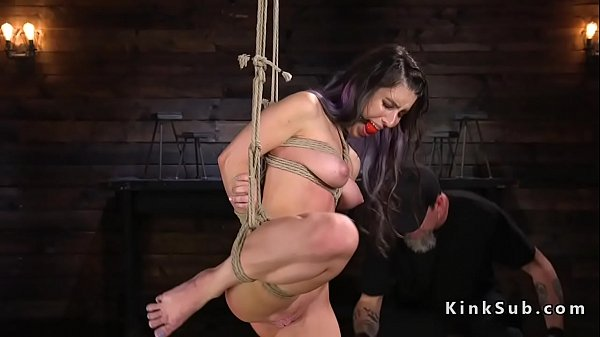 Slave, Long hair, Suspension