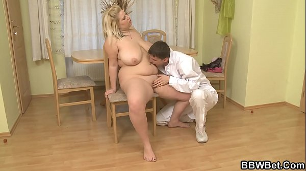 Doctor, Riding cock, Blonde chubby