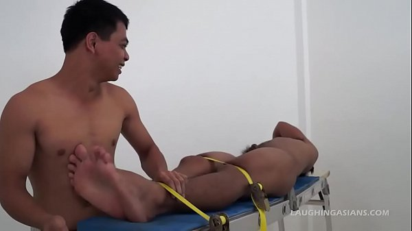 Tickle, Bound, Asian boy