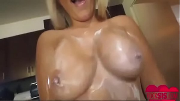 Blond, Huge boobs