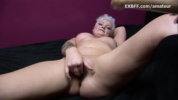 Short hair, Kitty, Huge toy, Chubby pussy