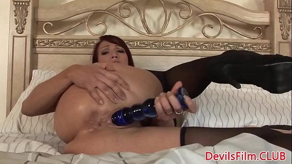 Dildo solo, Huge toy, Solo ass