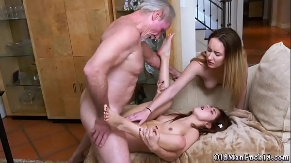 Spanked, Old and young, Spanking girl, Old daddy, German, Milfs fucking